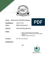 o History and Fundamentals of (KSE). o Money market, Primary market and Capital market. o Modes of Islamic Financing.