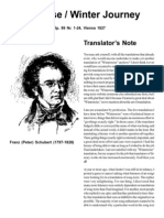 Winterreise Translations