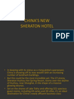 Kina - Sheraton Hotel AZS