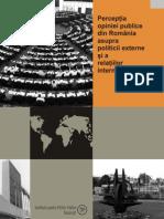Percep355ia Opiniei Publice Din Roman
