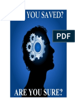 Are You Saved Booklet