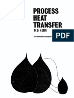 Process Heat Transfer - By D. Q. Kern