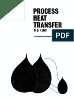Process Heat Transfer - By D. Q. Kern
