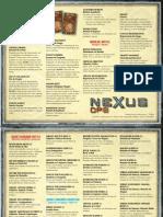 NexusOps Second Edition Cartas BR-PT V1.0