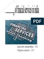 Marketing of Financial Services in India
