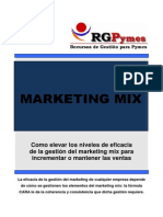 Rgpymes Curso Marketing Mix