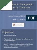 Mindfulnesmindfulnesss in Tc Treatment Presentation