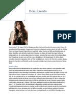 Demi Lovato Hausaufgaben