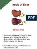 Fc28cirrhosis of Liver Ppt