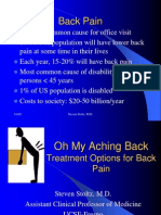 Low Back Pain 3-4-03