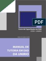 Manual de Tutoria Em EAD Da UNIRIO