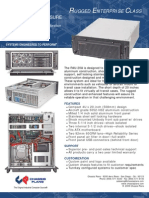 R4U-20A Rugged 4U Rackmount Computer w/ Shock Isolated Drives