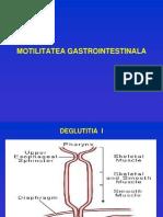 Motilitatea Gastrointestinala Curs an i Medicina