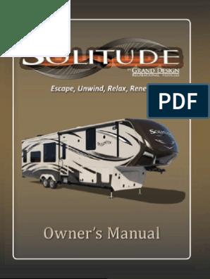 Solitude Owner Manual Rev0613   Implied Warranty   Damages