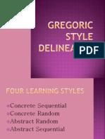 Gregoric Style Delineator