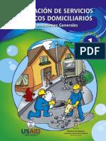 Cartilla N° 1 Prestacion serv. públ. domiciliarios