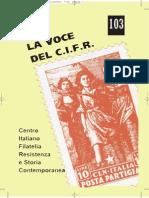 LA VOCE DEL C.I.F.R. 103