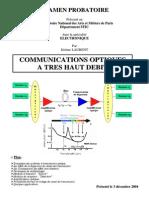 Communications optiques à très haut débit