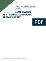 Brand Implementation as Strategic Corporate Responsibilty Enn bn n