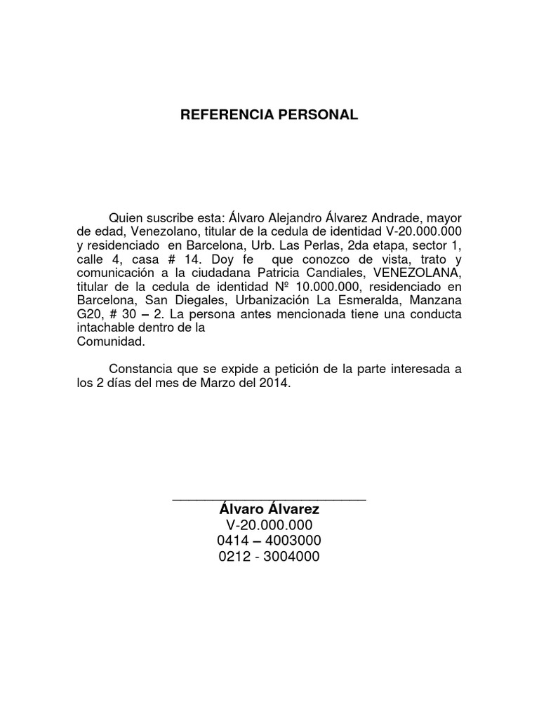 carta de referencia familiar - Gidiye.redformapolitica.co