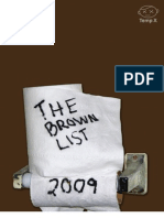 Brown List 2009