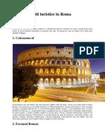 Top 10 Atractii Turistice in Roma