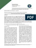 Glucose lowering potential of hydromethanolic extract of Rauwolfia