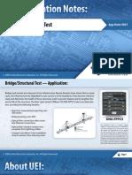 Bridge/Structural Test
