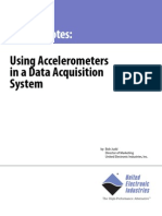 Using Accelerometers in a Data Acquisition System