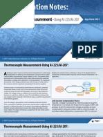 Thermocouple Measurement Using AI-225/AI-207