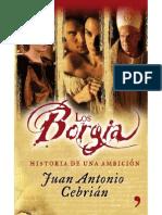 Los Borgia - Juan Antonio Cebrian