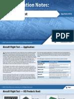 Aircraft Flight Test