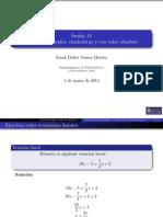 Sesión 12 Ecuaciones