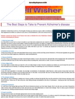 The Best Steps to Take to Prevent Alzheimer's Disease