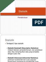 1 Pendahuluan Statistik(1)