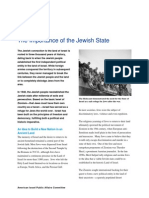 Importance of the Jewish State