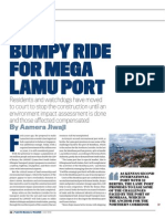 Bumpy Ride for Mega Lamu Port
