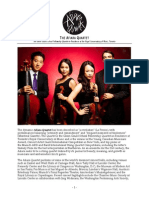 press kit- afiara quartet