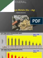 2. Precious Metals Au-Ag