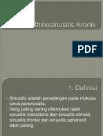 presentasi rhinosinusitis kronik