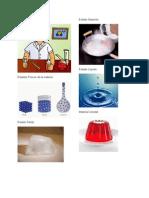 Estados de La Materia Solido Gaseoso Liquido Coloidal