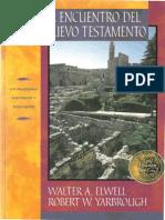Al Encuentro Del Nuevo Testamento-Walter a. Elwell