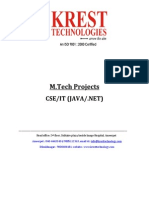 M.tech Java & Dotnet Projects List 2011-12