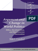 [Neta C. Crawford] Argument and Change in World