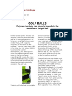 golf ball chem
