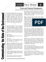 Waste Chemical Management