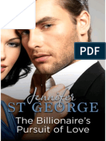 Jennifer St George - Billionaire's Pursuit of Love