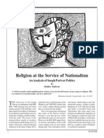 Religion at the Service of Nationalism
