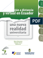 2. Libro2013 La Educacion a Distancia y Virtual en Ecuador
