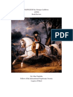 Book Review - Napoleon by Georges Lefebvre